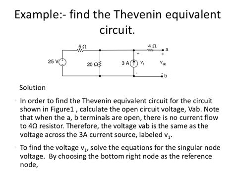 circuit laws network theorems