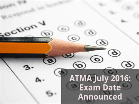 Atma Mba Date by Atma July 2016 Date Announced Careerindia
