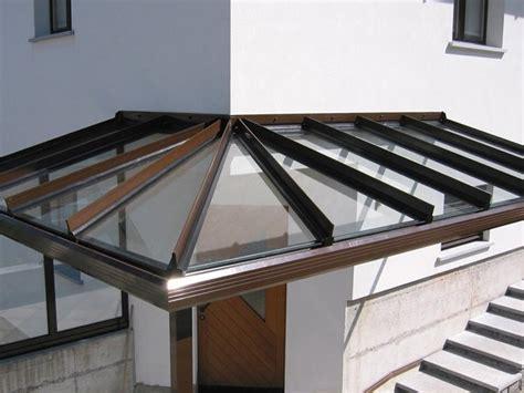 tettoia in vetro tettoia in alluminio e vetro td 100 frubau