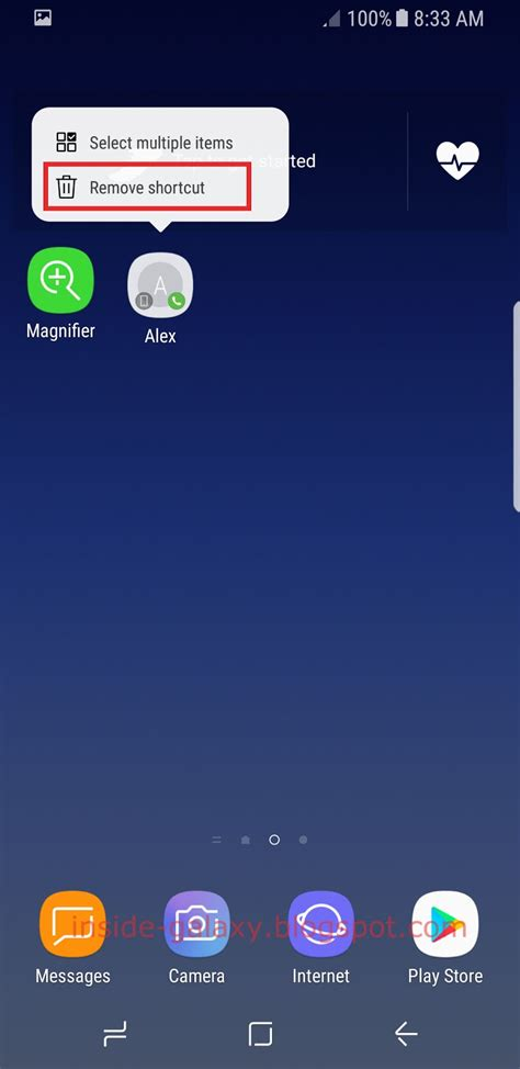 samsung galaxy s8 how to add or remove widgets on home