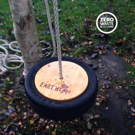 how to make a tire swing without a tree tyre swing