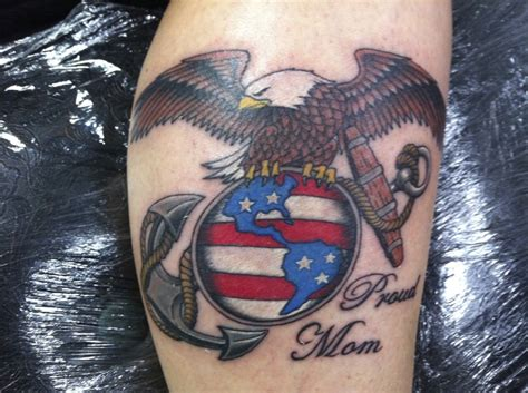 marine mom tattoos marine tattoos search tristin