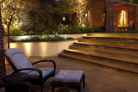 Patio Wall Lighting Ideas Garden Outdoor Wall Lighting Festive Garden Lighting Gardens Lighting Design