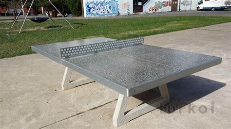 tavolo ping pong cemento mesa pingpong hormigon ofertas lurkoi