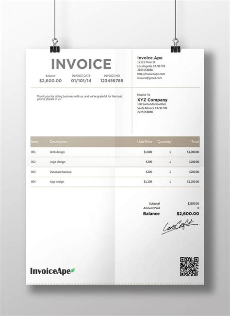 corporate design invoice 1000 images about invoice on pinterest corporate design