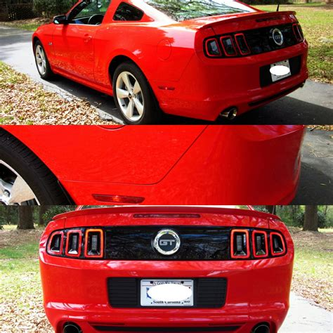 oem ford mustang parts painted ford mustang genuine factory oem rear bumper cover