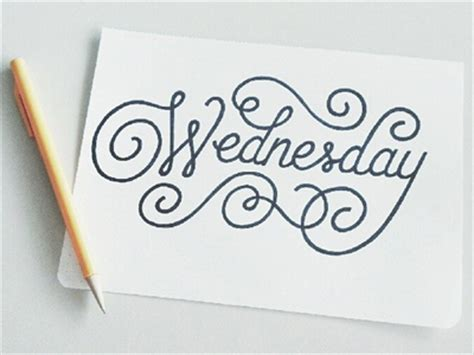 wednesday by stephanie schlim dribbble