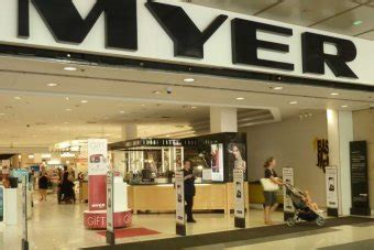 myer sales hold ground retailer says well positioned for