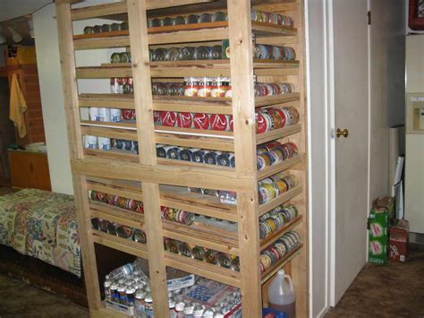 bloombety cheap shelving with canned food ideas for