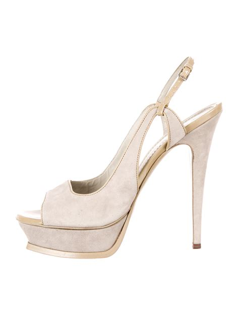 yves laurent shoes yves laurent tribute platform sandals shoes