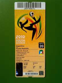 Tickets World A Say 2010 Fifa World Cup Tickets