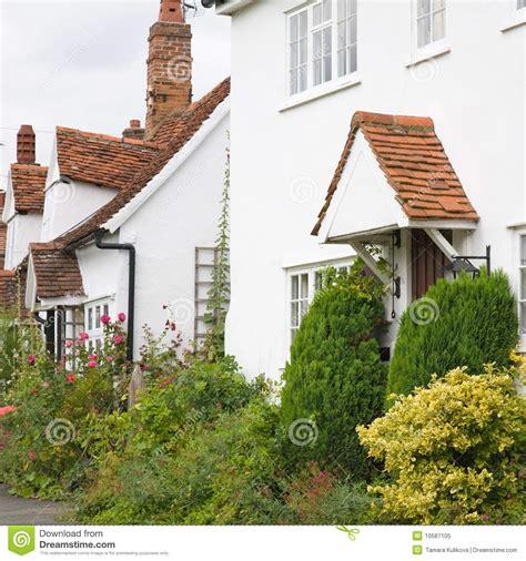 white cottages royalty free stock photo image 10587105
