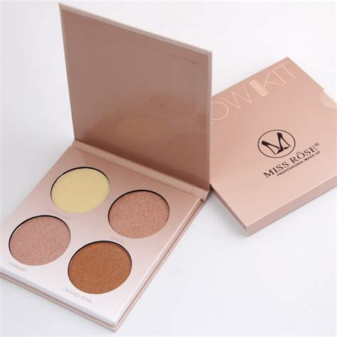Eye Shadow 2 Berkualitas 1 miss pigmentation 4 color eyeshadow palette glow