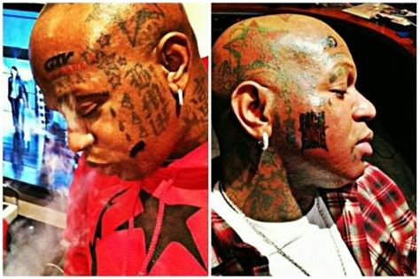 birdman new tattoo birdman gets new gossip grind