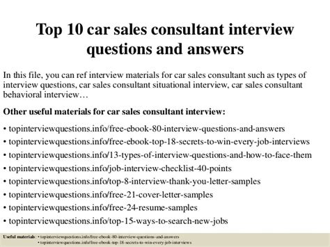 7 Key Questions To Ask Your Car Salesman by Top 10 Car Sales Consultant Questions And Answers