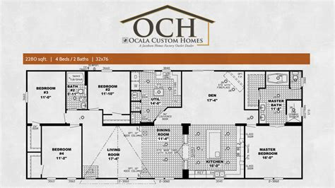 southern floor plans southern estates mobile homes floor plans