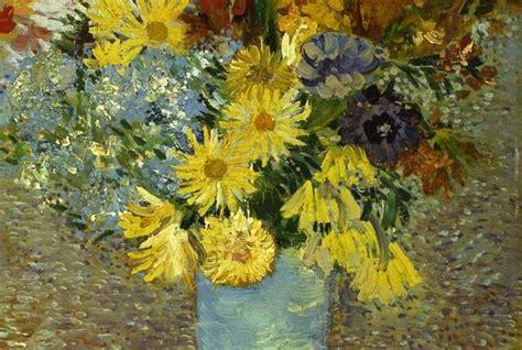 quadri con fiori di pittori famosi i fiori di gogh ritrovano il giallo originario