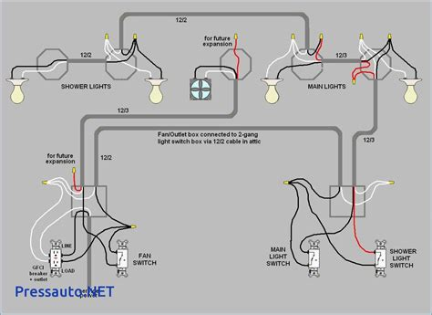 gfci light switch and electrical wiring diagram wiring