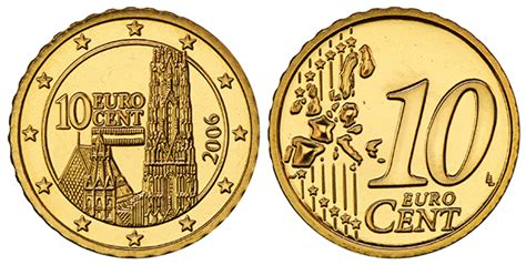10 buro cent collecting the coins of austria 10 cent