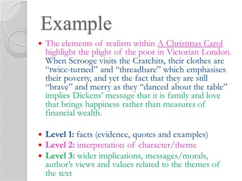 theme quote exles a christmas carol study guide ppt download