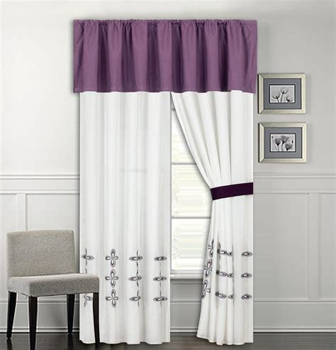 curtains purple and white pin purple curtains with light spot on pinterest