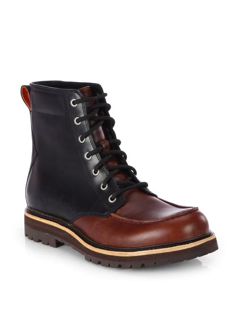 waterproof boots for lyst ugg noxon waterproof boots in brown for