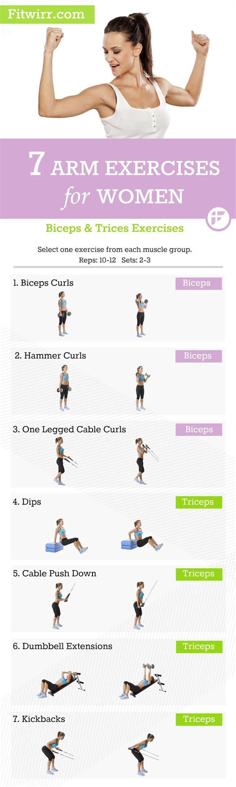 how to get toned arms 7 incredibly effective arm workouts