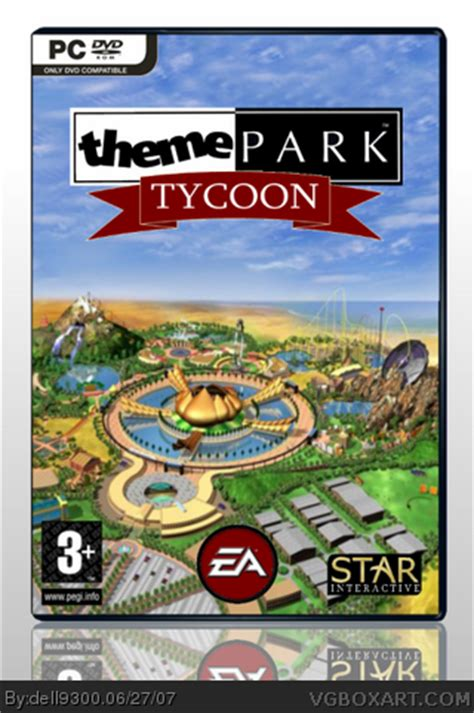 the jaguar tycoon books theme park tycoon pc box cover by dell9300
