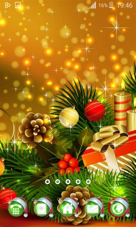 classic christmas theme android apps on google play