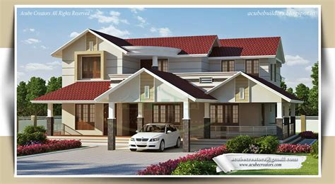 beautiful kerala house design at 3268 sq ft