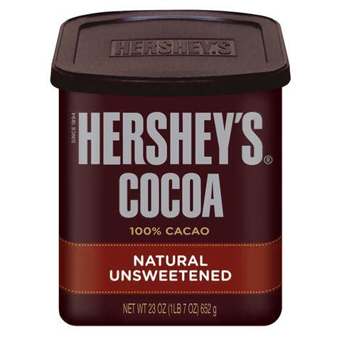 Hersheys 100 Cocoa Powder Unsweetened hershey s unsweetened cocoa powder 23 oz bj s wholesale club