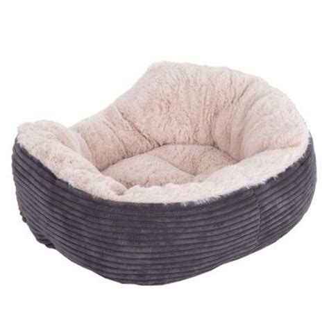 jumbo dog bed rosewood grey jumbo pet bed great deals at zooplus