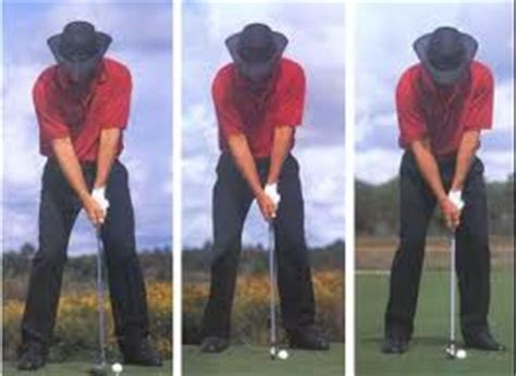 greg norman golf swing ball position shottalk com