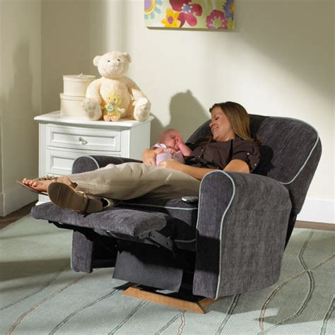 Best Nursery Rocker Recliner by Best Chairs Montreal Swivel Glider Recliner N Cribs