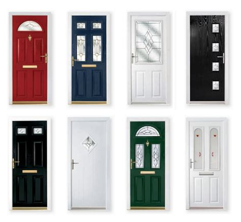 Composite Front Door Styles Composite Doors Edgware Nolan Glass
