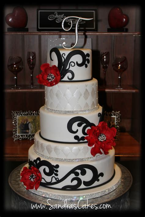 White And Black Wedding Cakes by Black And White Wedding Cake