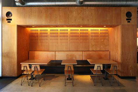 Interior Design Restaurants by Klipsch Install Stories Chipotle Adds Heresy Iii The