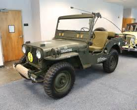 1951 willys m38 jeep collection