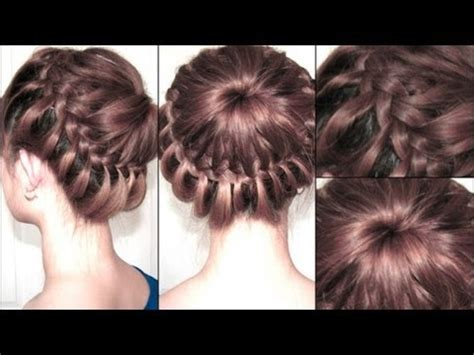how to do updo hairstyles step by step how to do star burst explosion updo braid hairstyles step