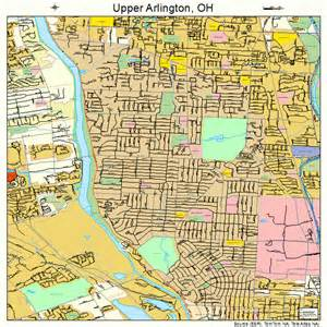 arlington map arlington ohio map 3979002