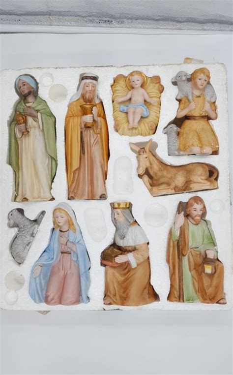 home interiors nativity homco figurines shop collectibles daily