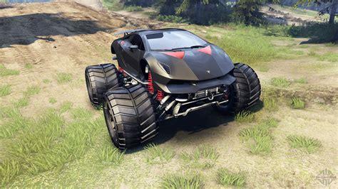 lamborghini truck lamborghini sesto elemento monster truck for spin tires