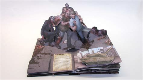 the walking dead the pop up book the walking dead the pop up book book by s d perry