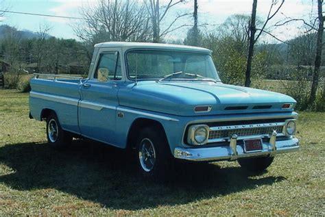 fleetside bed 1966 chevrolet custom 10 fleetside pickup 21684