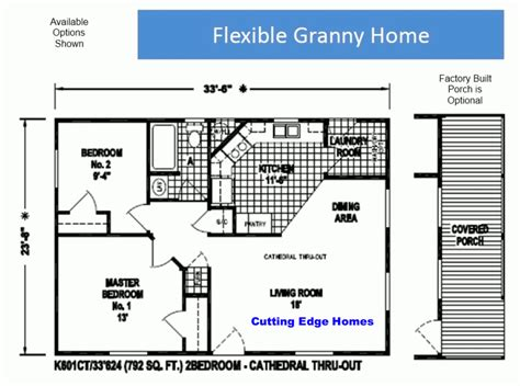 granny house floor plans the granny flat cutting edge homes