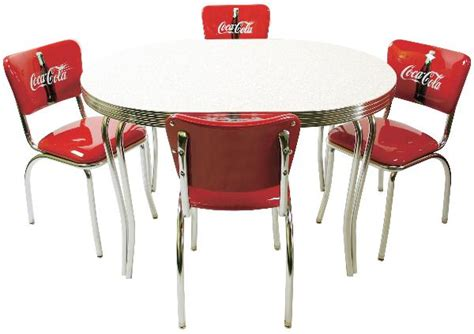 Coca Cola Table And Chairs by Vitro Cokedinerset Diner Set Glacier Boomerang Table