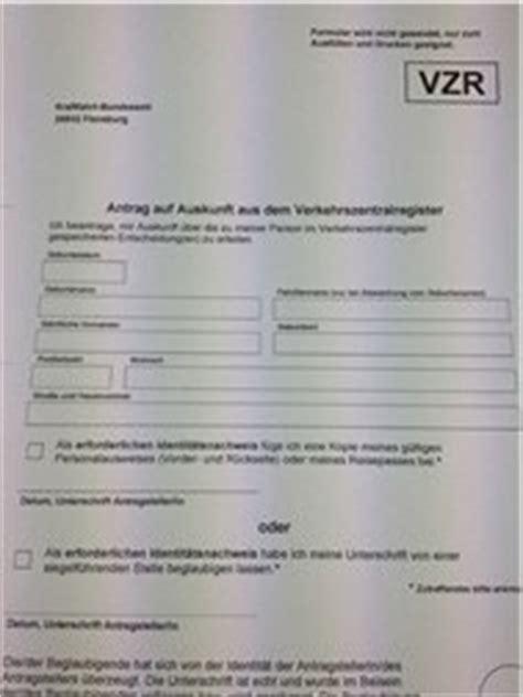 Punkte Flensburg Abfragen Kostenlos by Punktestand In Flensburg Abfragen Online Abfrage
