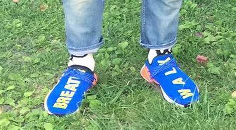 Adidas Nmd Hu X Pharrell William Breathe Walk Sneakers Mirror adidas nmd hu x pharrell quot breath and walk quot