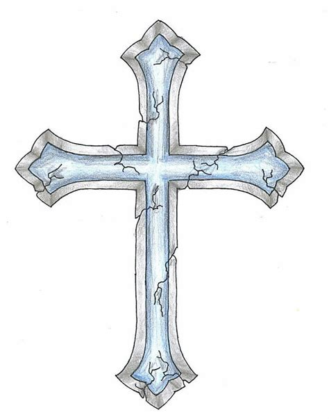 cracked cross tattoo design want a different cross with