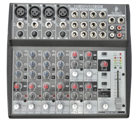 Mixer Xenyx 1202 behringer xenyx 1202 mixer 2014 reverb